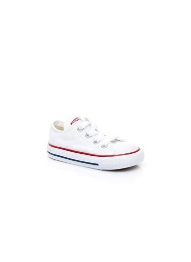 Converse Unisex Çocuk Chuck Taylor All Sneakers 7J256C Beyaz